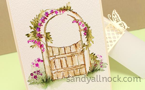 Sandy Allnock Art Impressions WC gate