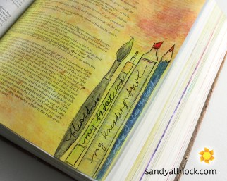 Sandy Allnock Bible Journal My Basket