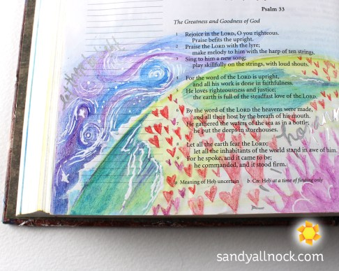 Sandy Allnock Bible Journal Steadfast Love