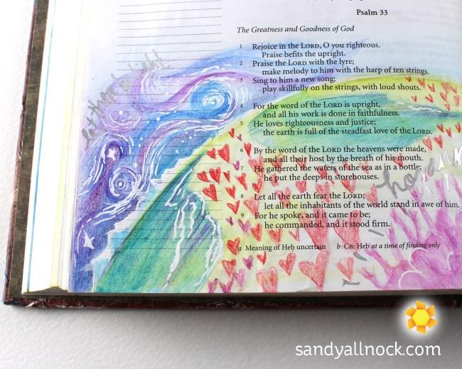 Sandy Allnock Bible Journal Steadfast Love