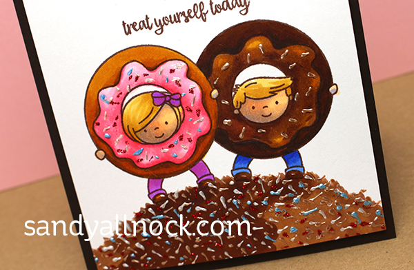 Sandy Allnock - Copic Donuts & Sprinkles