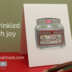 Sprinkled with Joy – interactive oven card