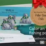 Color an Ice Fishing Pond – MFT Polar Bear Pals