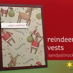Reindeer Vests card