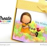 Happy Together: Copic Watercolor Garden