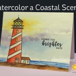 Watercolor a Coastal Scene