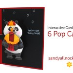 6 interactive Pop Cards