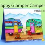 Happy Glamper Campers – Inktense Pencils