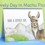 Llovely Day in Machu Picchu