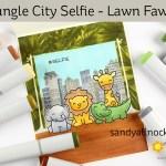 Safari City Selfie – Lawn Fawn Wild for You