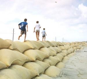 running on sandbags