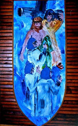 Tenth Station, Jesus is stripped of his garments