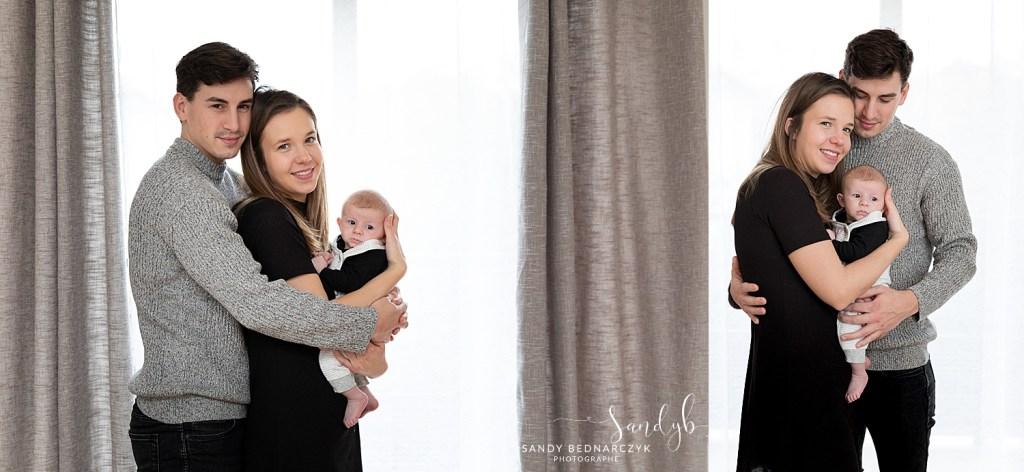 photo en contre jour devant une fenêtre- photographe famille