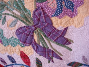 detail from Ollie Jane's Flower Garden