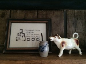 cow churn crossstitch