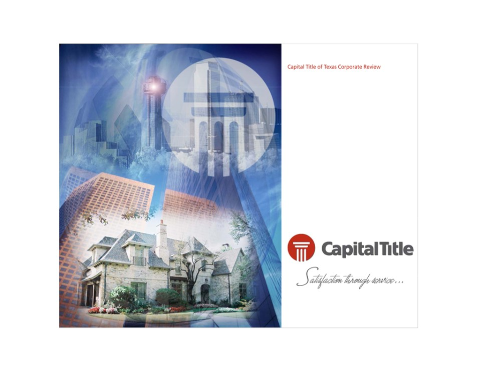 capitol title of texas marketing and graphic design sandy hibbard creative inc plano texas