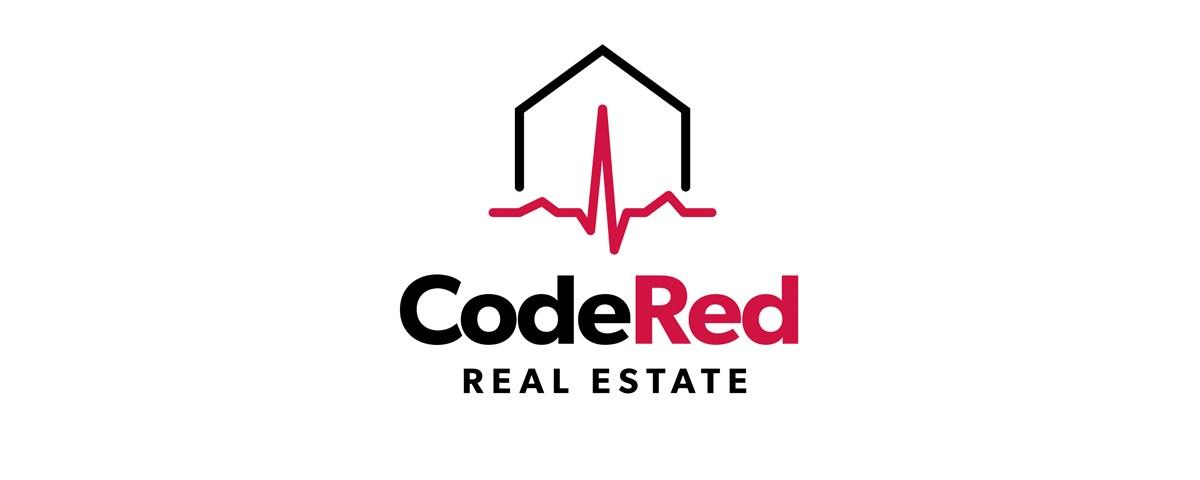 code red real estate logo