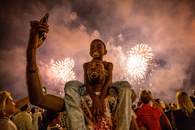 fireworks in dallas and NYC sandy hibbard creative