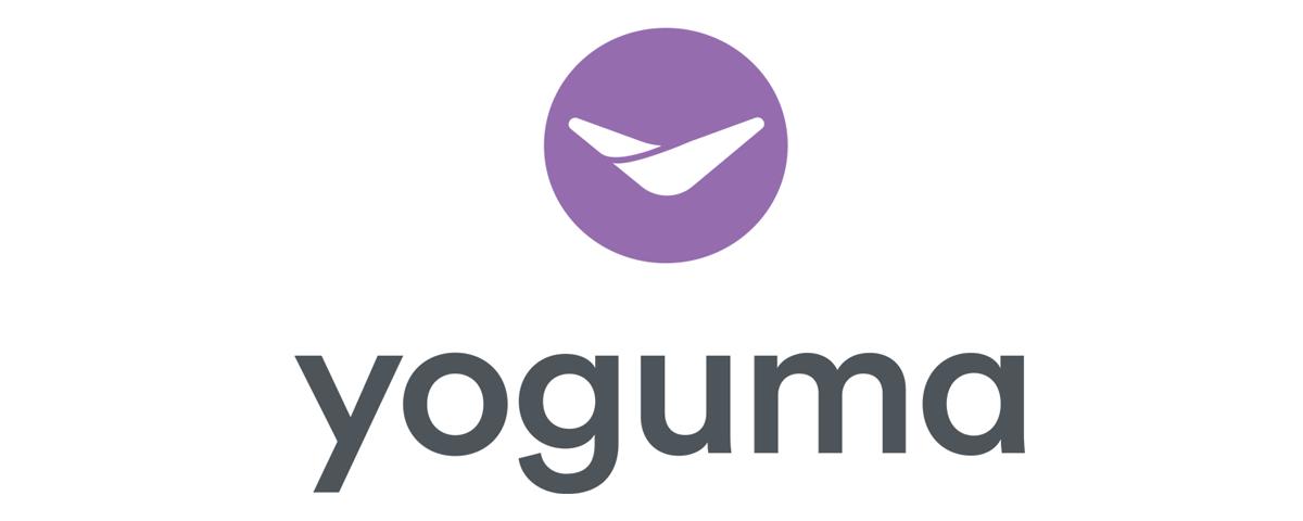 yoguma logo design by sandy hibbard creative