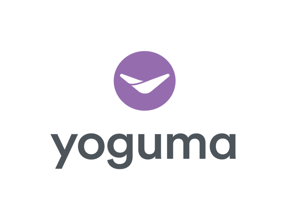 yoguma logo design by sandy hibbard creative