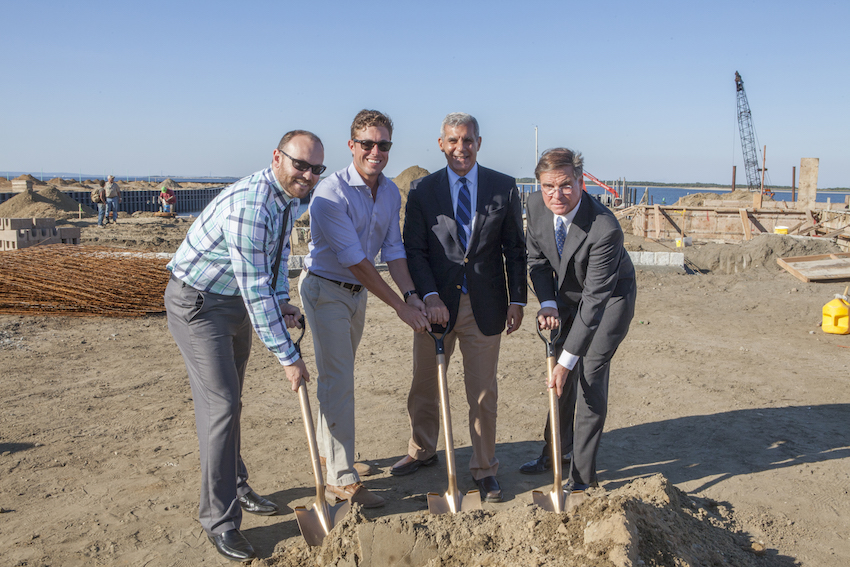 Breaking Ground on the New Marina!