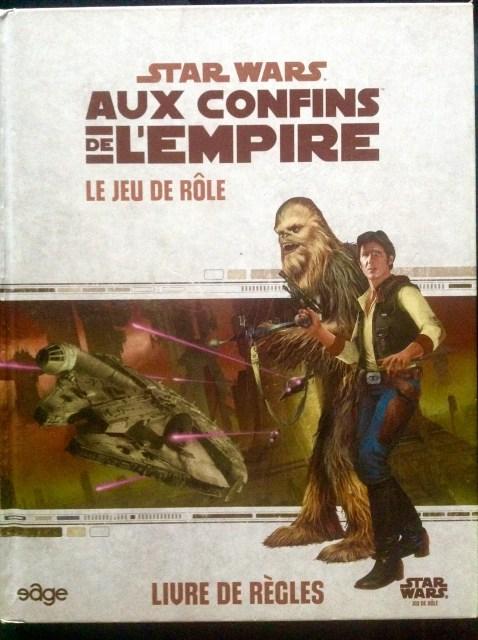 Nostalgeek – 10 jeux de rôle papier qui m'ont marqué – Jour 7 : Star Wars – Aux Confins de l'Empire