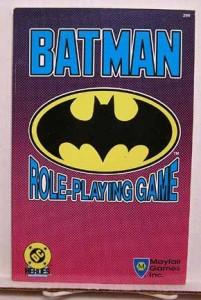 Nostalgeek – 10 jeux de rôle papier qui m'ont marqué – Jour 1 : Batman RPG