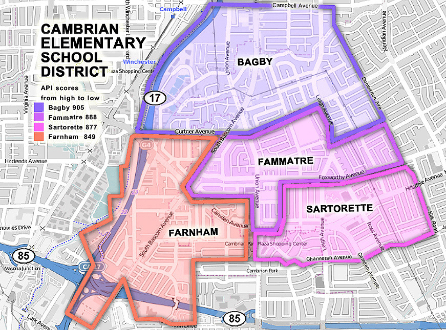 Cambrian Elementary Map