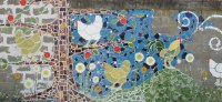 Lessons in Building a Grandisimo Mosaic Tile Mural | Sandy ...