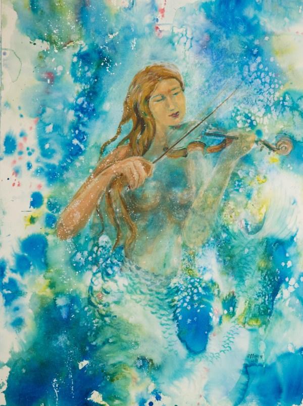 Lake Mermaid Art