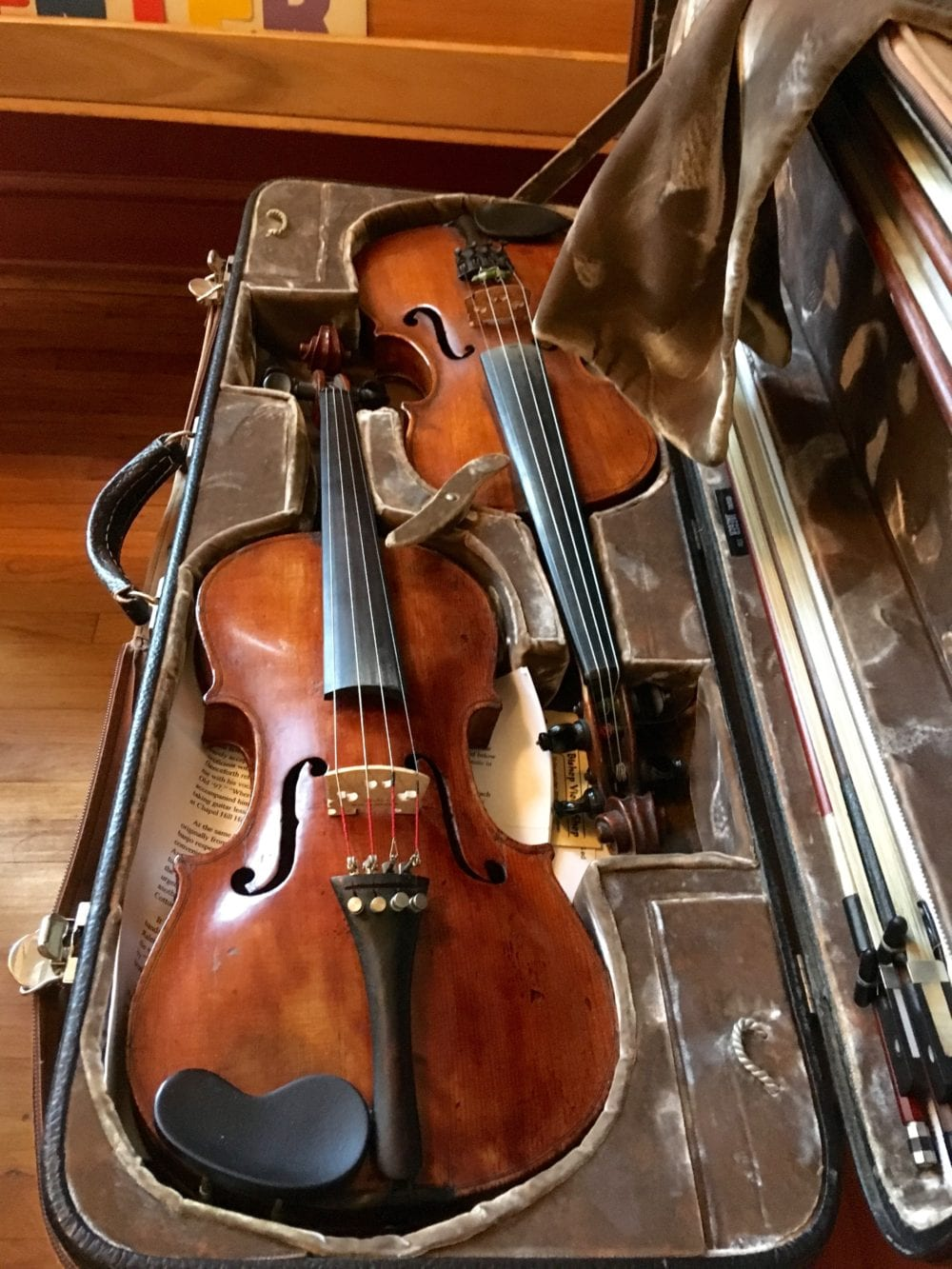 two fiddles