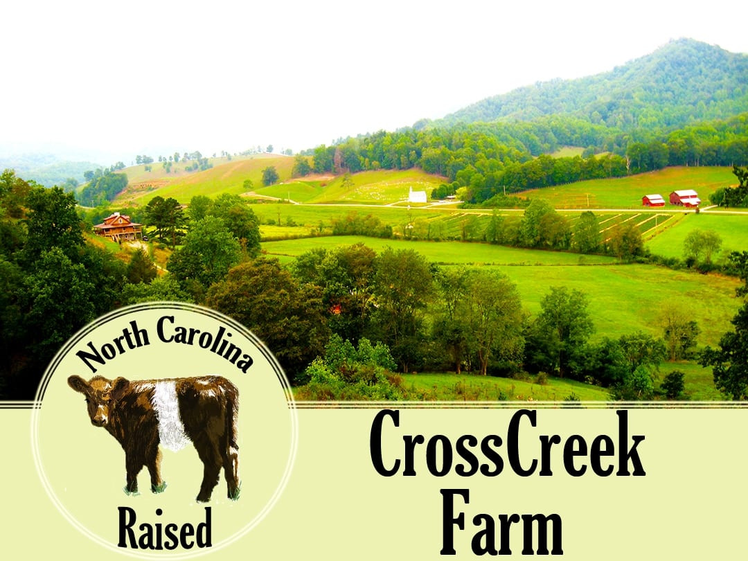 Cross Creek Farm, Sandy Mush, NC Logo