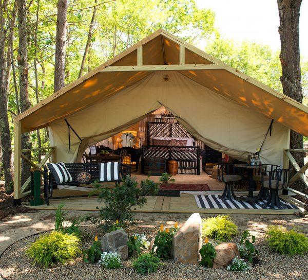 Glamping Rentals  Sandy Pines Camping