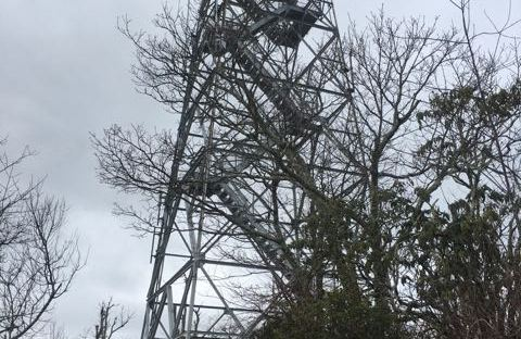 Frying Pan Fire Tower