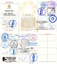 Credencial from 2010 Via de la Plata (from Puebla de Sanabria)