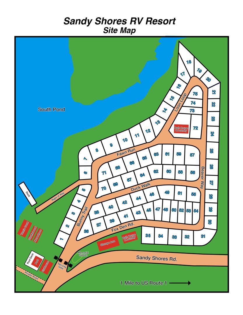 Sandy Shores Map : sandy, shores, Sandy, Shores, Resort