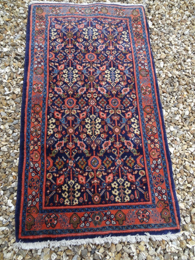 Semi-antique Persian tribal rug