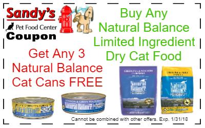 Natural Balance Dog Food Coupons >> Natural Balance The Health Food Store For Pets