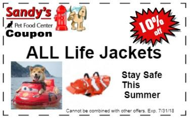 Life Jacket 7-18