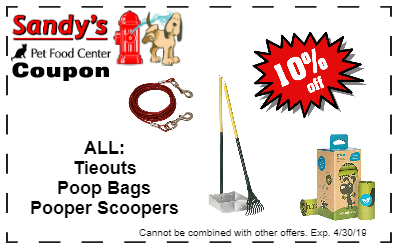 poop bags tieouts and scoopers 4-19