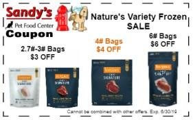 natures variety frozen 6-19
