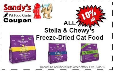 Stella Freeze Dried Cat Food
