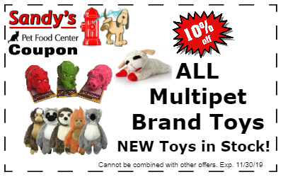 Multipet Toys coupon