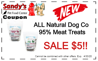 NEW Natural Dog Co treats on sale for $5