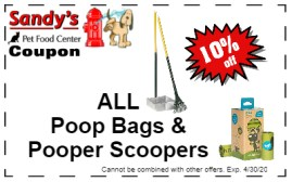 poop bags and scoopers 4-20