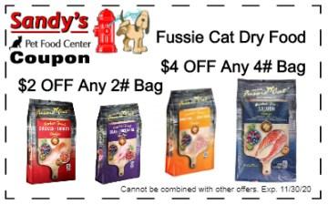 fussie cat dry 11-20