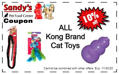 Kong cat toys coupon coupon