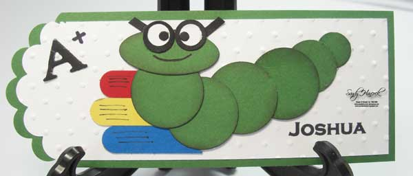 Bookworm Bookmark:  Perfect for my grandchildren….and me….and….
