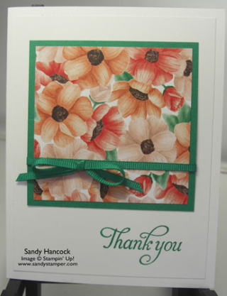 Painted Seasons Designer Series Papers…..So Beautiful, Three Color Schemes!