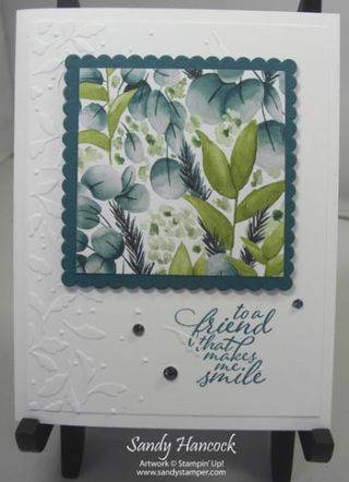 Forever Ferns with the Meadow Moments Embossing Folder